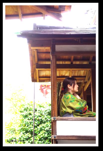 浴衣で大徳寺