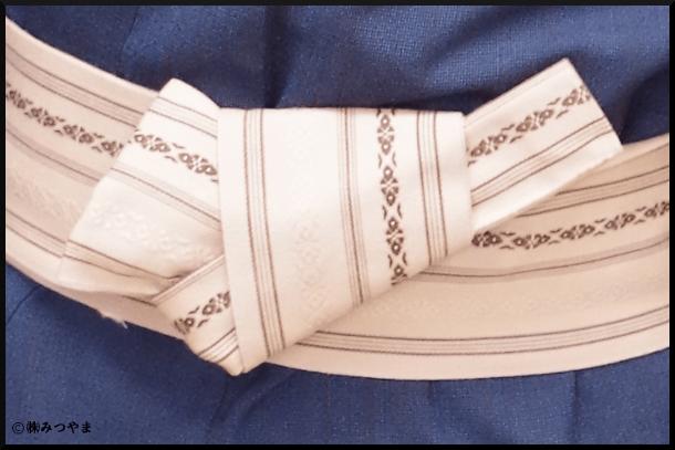 帯の結び部分の解説・メイン9