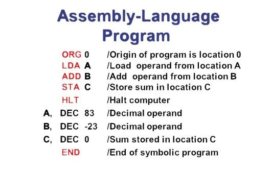 #Assembly Language