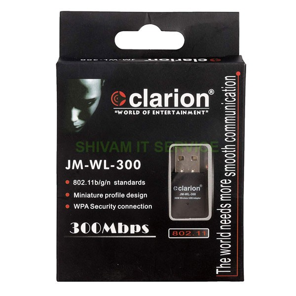 clarion 300 mbps wifi dongle 1
