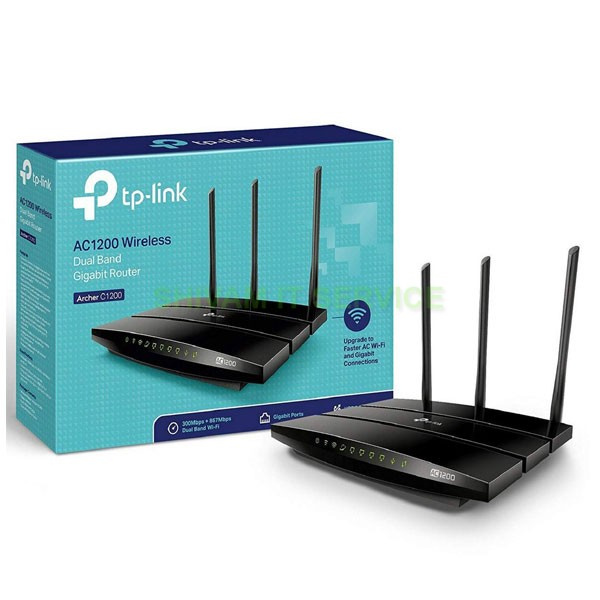 TP-Link Archer C1200 Dual Band Gigabit Wireless Router
