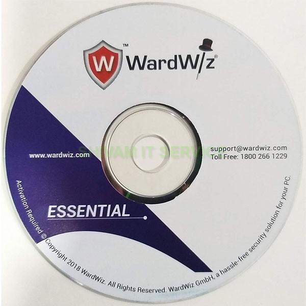 wardwiz essential pack antivirus 3