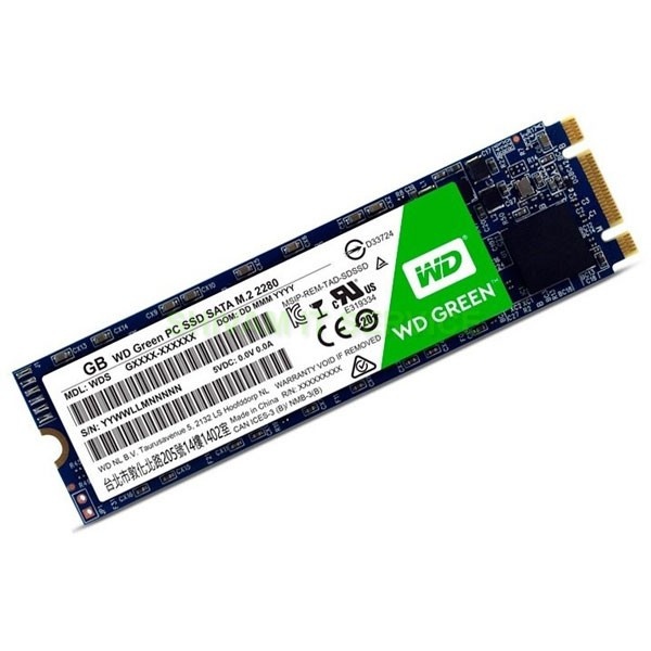 wd ssd 480gb green m.2 3