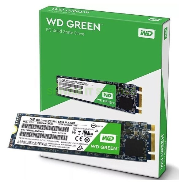 wd ssd 480gb green m.2 4