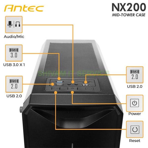 antec nx200 rgb gaming cabinet 2