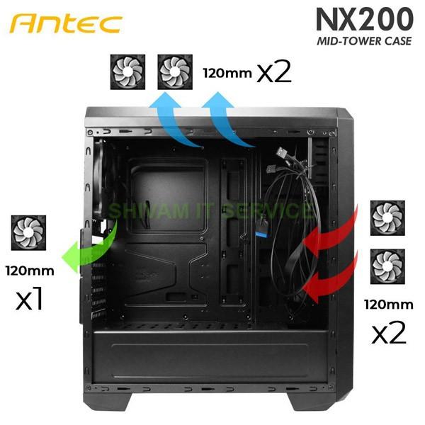 antec nx200 rgb gaming cabinet 4