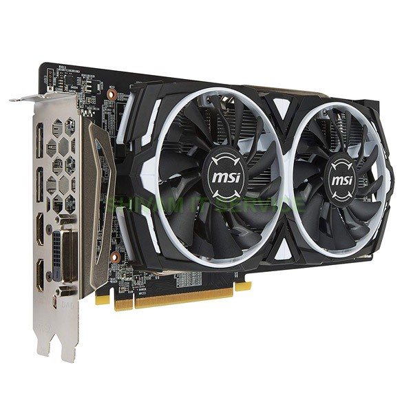 msi rx 580 armor oc 8gb graphic card 3