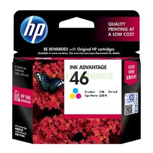 HP 46 Tri-Color Ink Cartridge