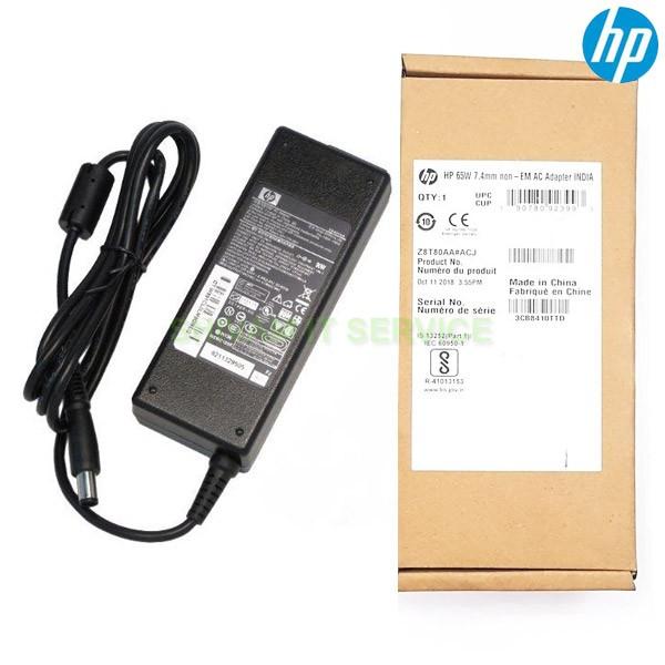 HP Original 65w 7.4mm Adapter