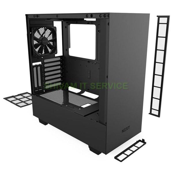 nzxt h510i gaming case matte black 5