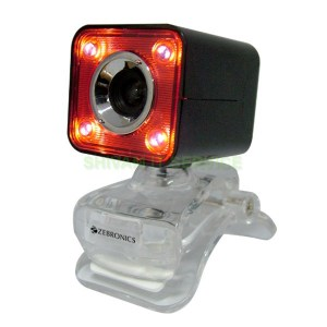 Zebronics Crystal Pro Webcam