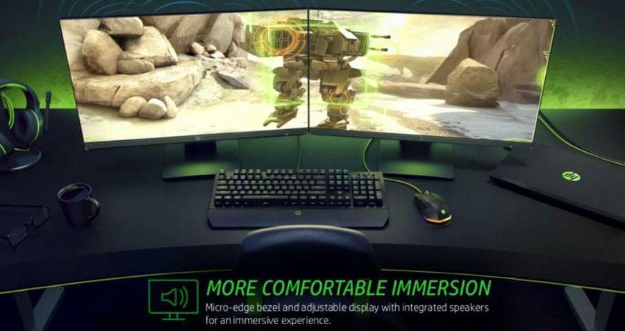 hp 24x gaming monitor 5