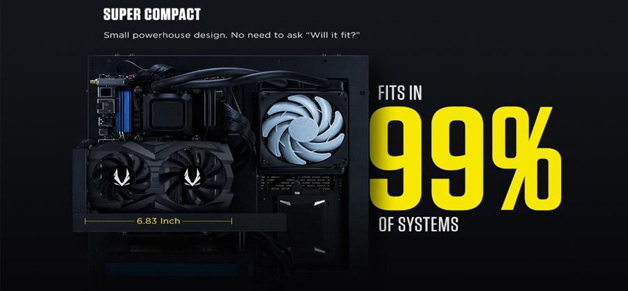 ZOTAC Gaming GeForce GTX 1660Ti Twin Fan 6GB GDDR6 Graphics Card ZT-T16610F-10L