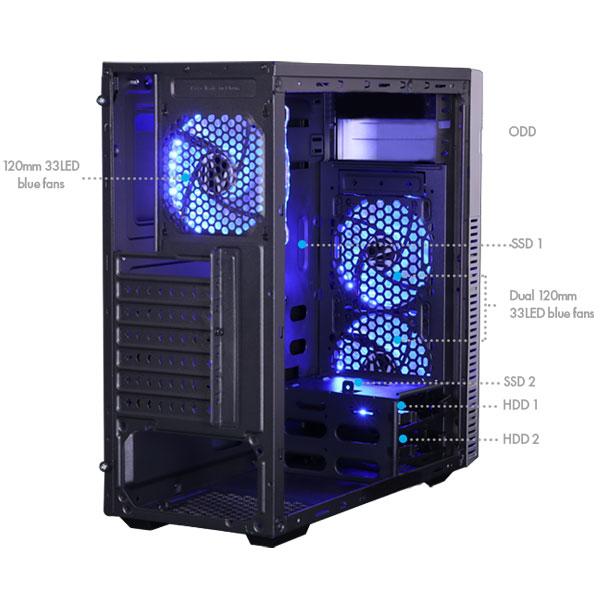 zebronics zeb hexa gaming cabinet 5