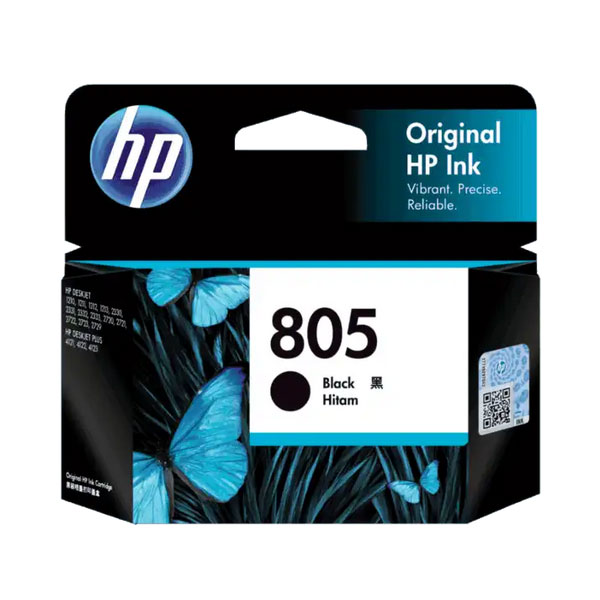 HP 805 Black Original Ink Cartridge