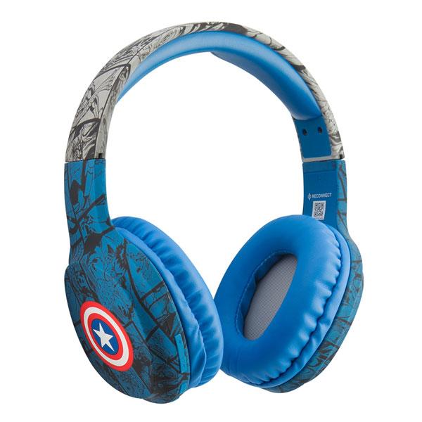 reconnect 302 marvel captain america wireless headphone 2