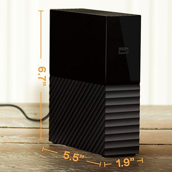 wd my book 4tb external hard drive 5