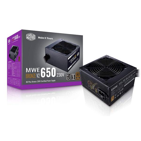 cooler master mwe 650w bronze v2 smps 1