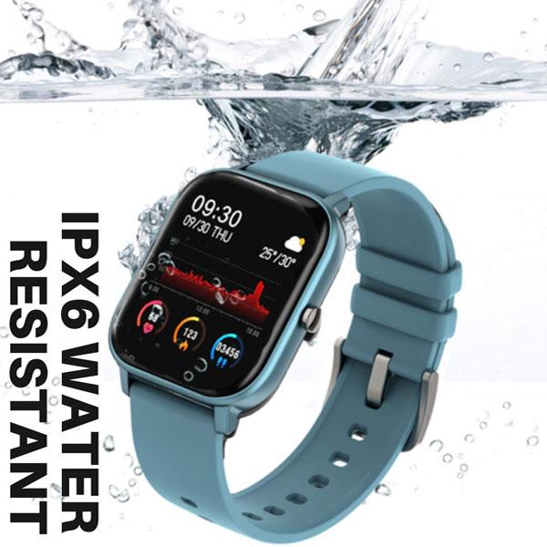 fire boltt full touch smart watch blue 5