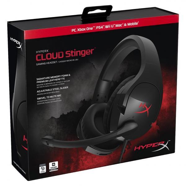 hyperx cloud stinger black gaming headset 7