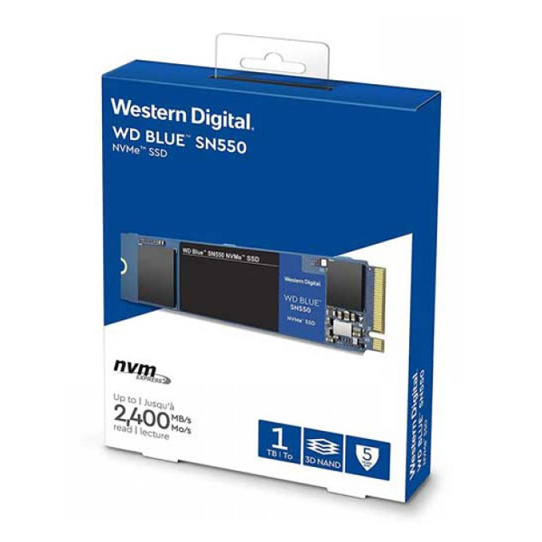 Western Digital Blue SN550 1TB M.2 NVMe SSD