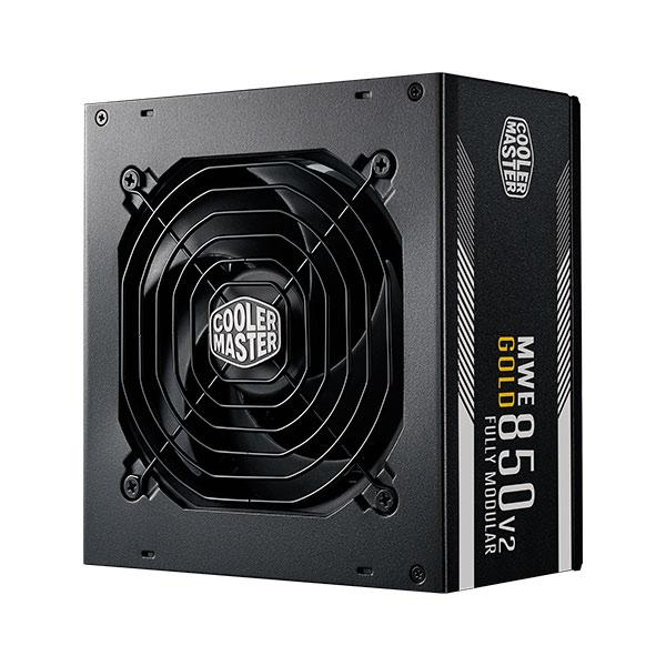 Cooler Master MWE Gold 850 V2 80 Plus Gold 850W Certified SMPS, Fully Modular Power Supply – Black