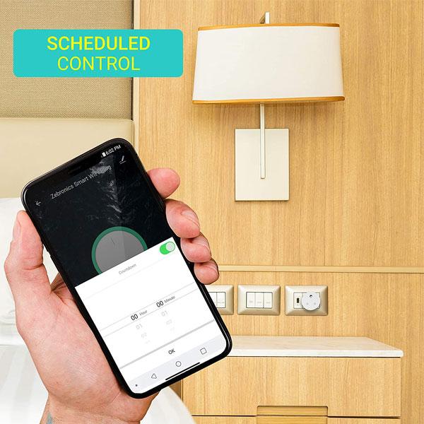 Zebronics ZEB-SP110 Smart Wi-Fi Plug