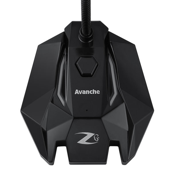 zoook avanche rgb usb noise cancelling gaming microphone 4