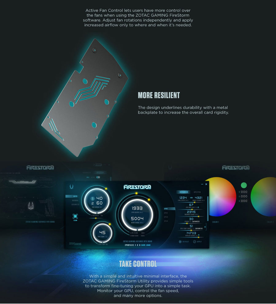 ZOTAC Gaming GeForce RTX 3060 Twin Edge Graphics Card ZT-A30600E-10M