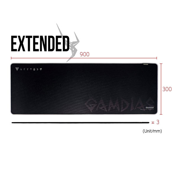 gamdias nyx p1 extended gaming mouse pad 6