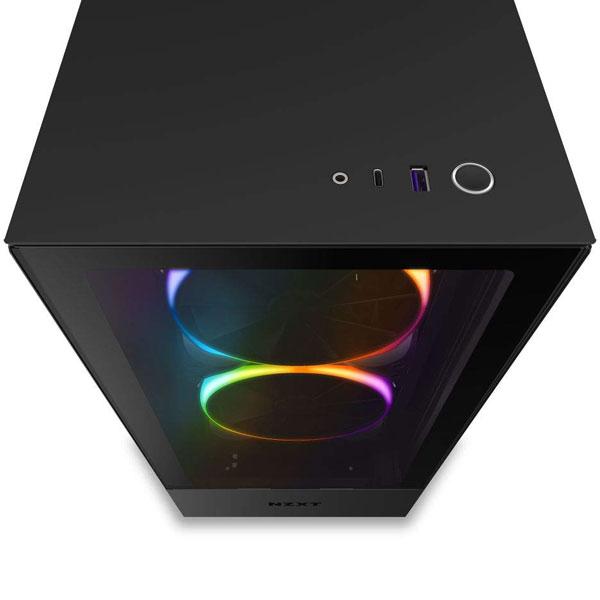 nzxt h510 elite matte black gaming cabinet 4