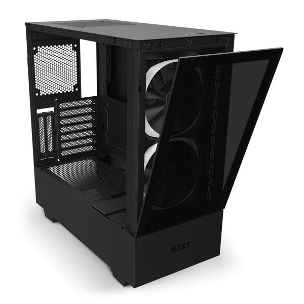 nzxt h510 elite matte black gaming cabinet 7