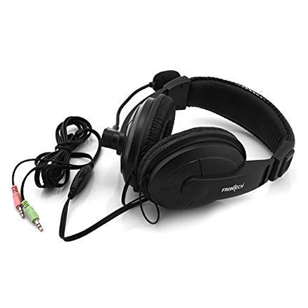 frontech hf 0750 wired headphone 3