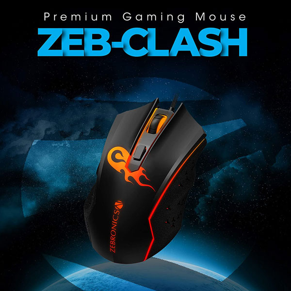 zebronics zeb clash gaming mouse 4