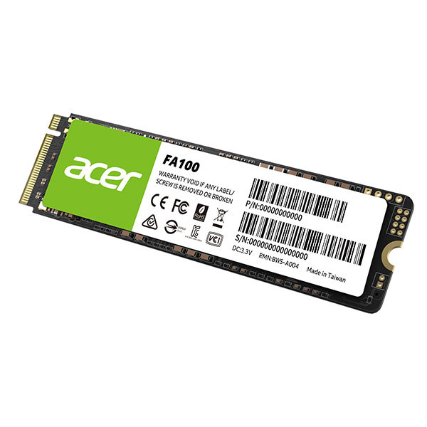ACER FA100 128GB M.2 Gen3 x4 NVMe 3D NAND Internal SSD Solid State Drive