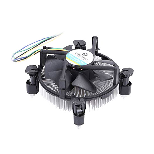 Zebronics Zeb-MSC200 CPU Cooling Fan For Intel socket 775/1150/1155/1156