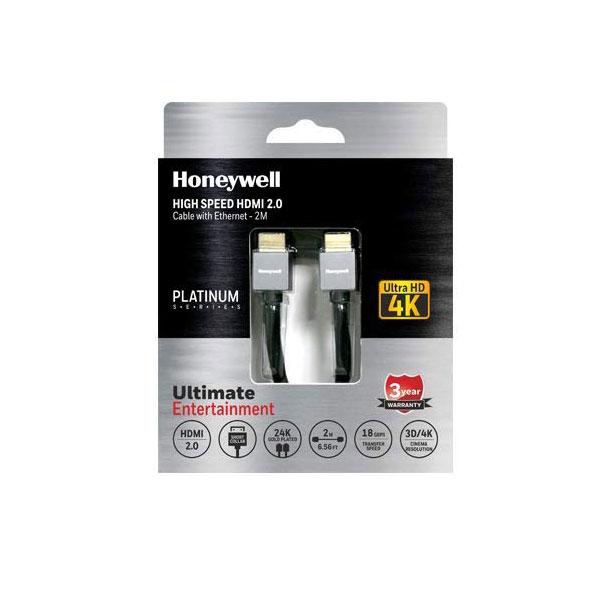 Honeywell Short Collar HDMI 2.0 Cable 2 Meter (Black)