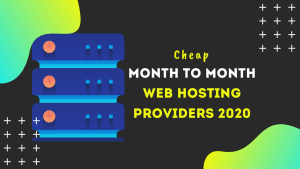 cheap month to month web hosting
