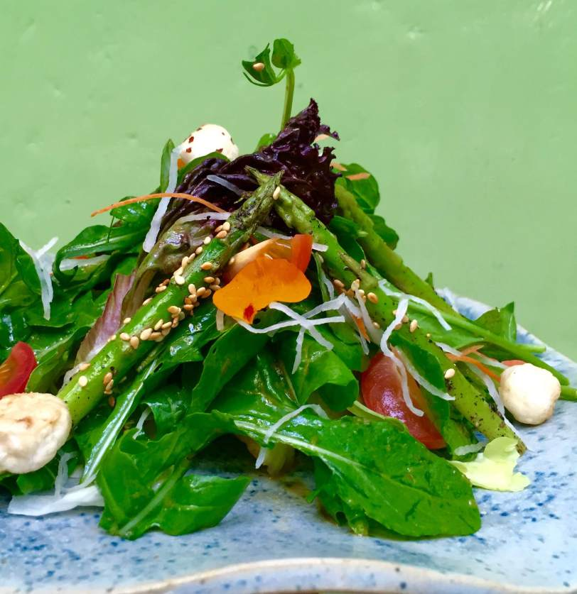 Grilled Asparagus and Rocket Salad 1