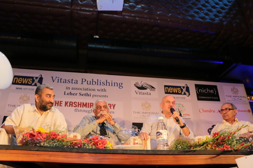 Launch of The Story of Kashmir, through the Ages @ Niche Lounge & Bistro (1)