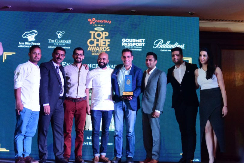A.D. Singh,Olive Bar & Kitchen receives  the Excellence Award for Restaurateur of the Year