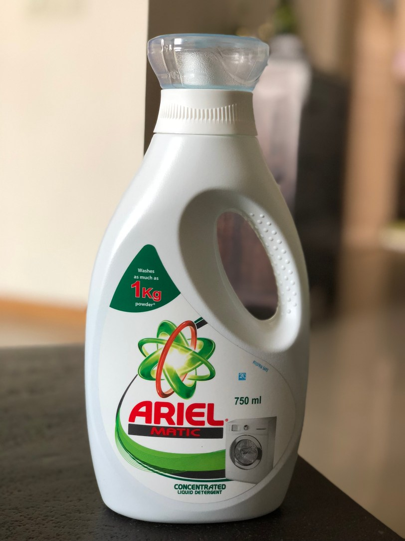 Product Review – Ariel Matic Liquid Detergent | Shivangi Reviews