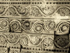 Details of the intricate stone work