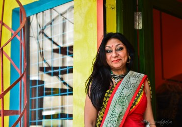 The designer -Anuradha Raman