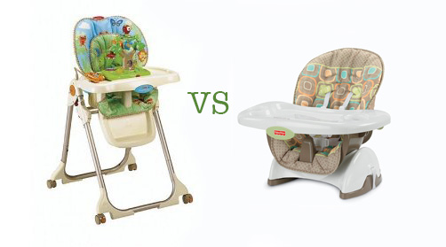 feeding chair high chair or booster chair for babies