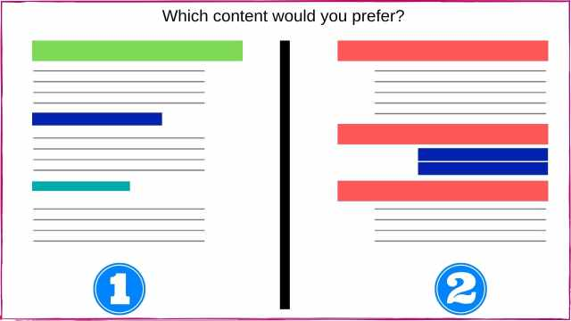 Well structured content with heading tags for better SEO.