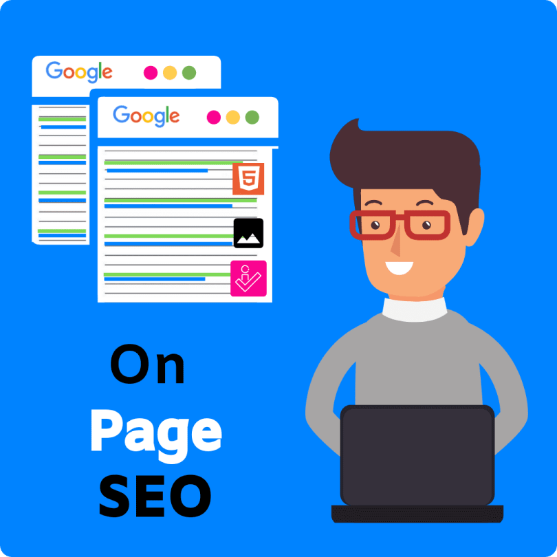 What is on page Search Engine Optimization.