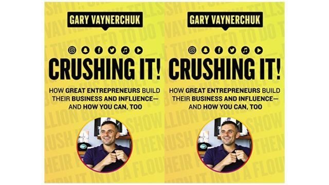 Gray Vaynerchuk's crushing it is a great marketing book that you want to read.