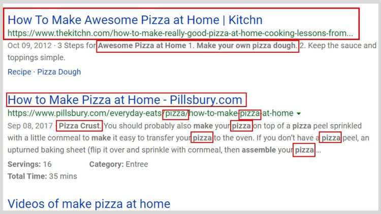 Bing SEO Tip: Use More keywords.