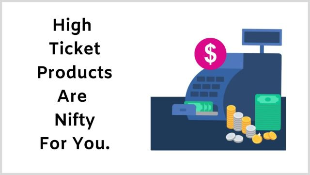 Why aren't you promoting high-ticket products to make more money?